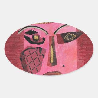 Ann of Green Gables. Oval Sticker