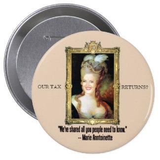 Ann Romney as Marie Antoinette Button
