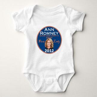 Ann Romney First Lady Baby Bodysuit