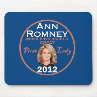 Ann Romney First Lady Mouse Pad