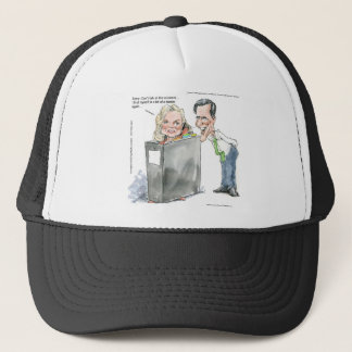 Ann Romney In A Binder Funny Gifts Tees & Cards Trucker Hat