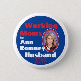 ANN ROMNEY PINBACK BUTTON