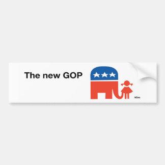 Ann Telnaes New GOP Logo Bumper Sticker