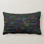Ann Text Design I Lumbar Pillow