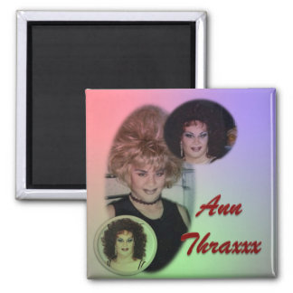 Ann Thraxxx The XXX Death Wish Refrigerator Magnet