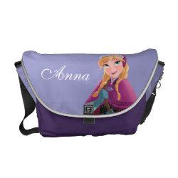Rickshaw Large Zero Messenger Bag with Anna's Frozen Adventure design