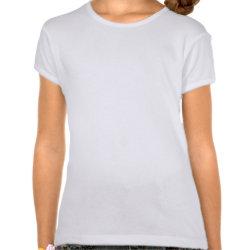 Girls Baby Doll T-Shirt with Disney's Frozen Anna design
