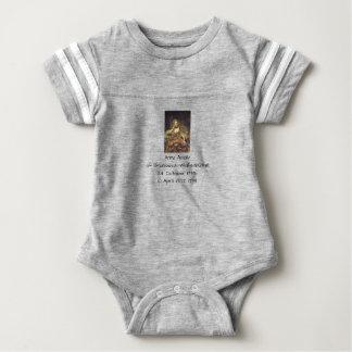 Anna Amalia of Brunswick-Wolfenbuttel 1739 Baby Bodysuit
