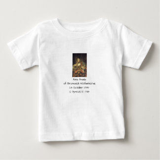 Anna Amalia of Brunswick-Wolfenbuttel 1739 Baby T-Shirt