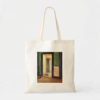 Anna Ancher Danish artist At Lunchtime wooden shoe Tote Bag