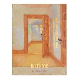 Anna Ancher Interior Brøndum's annex CC0042 Postcard