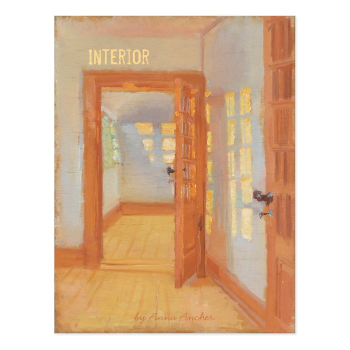 Anna Ancher Interior Brøndum's annex CC0052 Postcard