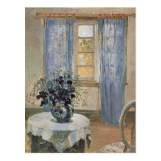 Anna Ancher's Blue Clematis in the Artist's Studio Postcard