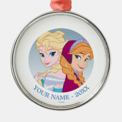 Premium circle Ornament with Follow your Heart design