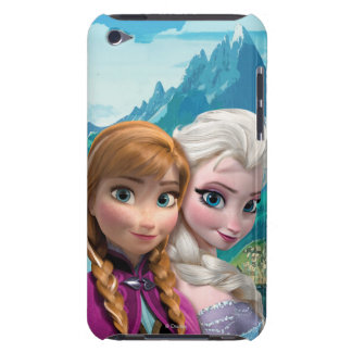 Anna and Elsa Barely There iPod Cases