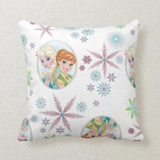 Anna and Elsa | Birthday Wish Throw Pillow