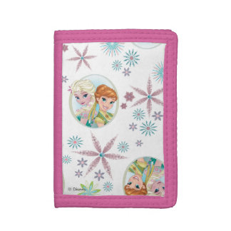 Anna and Elsa | Birthday Wish Tri-fold Wallets