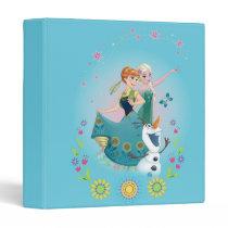 Anna and Elsa | Celebrate Sisterhood 3 Ring Binder