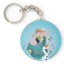 Anna and Elsa | Celebrate Sisterhood Keychain