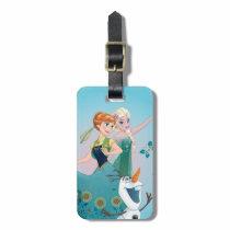 Anna and Elsa | Celebrate Sisterhood Luggage Tag
