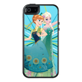 Anna and Elsa | Celebrate Sisterhood OtterBox iPhone 5/5s/SE Case