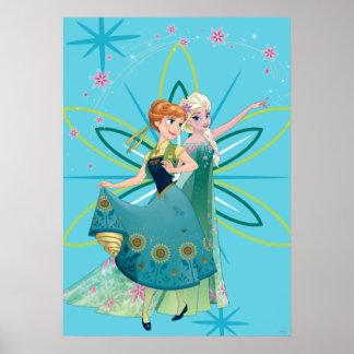 Anna and Elsa | Celebrate Sisterhood Poster
