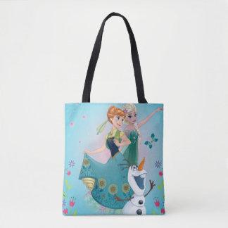 Anna and Elsa | Celebrate Sisterhood Tote Bag