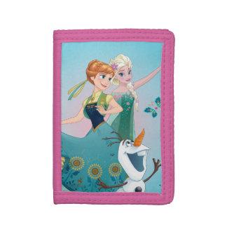 Anna and Elsa   Celebrate Sisterhood Tri-fold Wallets