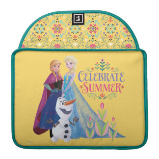 Anna and Elsa | Celebrate Summer MacBook Pro Sleeves