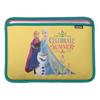 Anna and Elsa | Celebrate Summer MacBook Sleeve