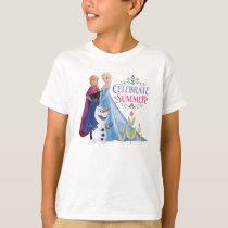 Anna and Elsa | Celebrate Summer T-Shirt