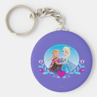 Anna and Elsa | Embracing Keychain