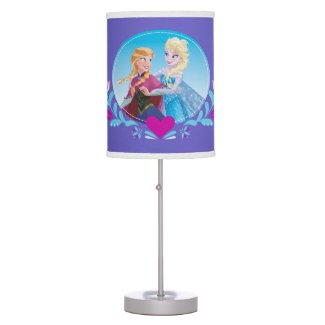 Anna and Elsa | Embracing Table Lamp