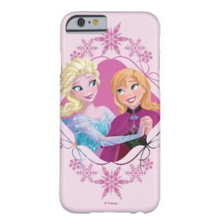 Anna and Elsa | Family Forever Barely There iPhone 6 Case
