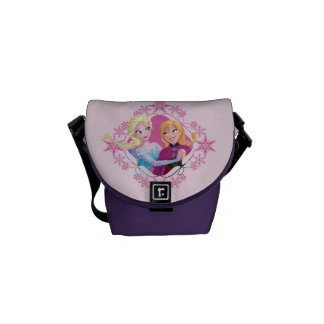 Anna and Elsa | Family Forever Courier Bag