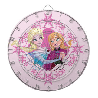 Anna and Elsa | Family Forever Dartboard