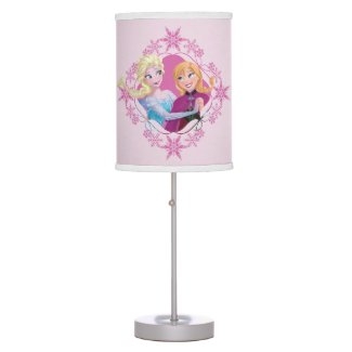 Anna and Elsa | Family Forever Desk Lamp