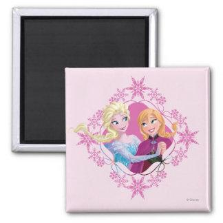 Anna and Elsa | Family Forever Magnet