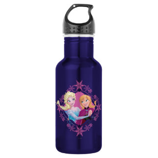 Anna and Elsa | Family Forever Stainless Steel Water Bottle