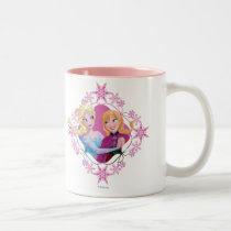 Anna and Elsa | Family Forever Two-Tone Coffee Mug