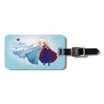 Anna and Elsa | Family Love Bag Tag