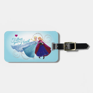 Anna and Elsa | Family Love Bag Tag