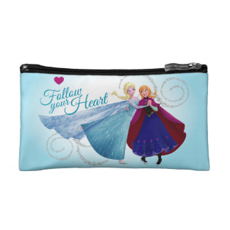 Anna and Elsa | Family Love Cosmetic Bag