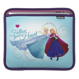 Anna and Elsa | Family Love iPad Sleeve