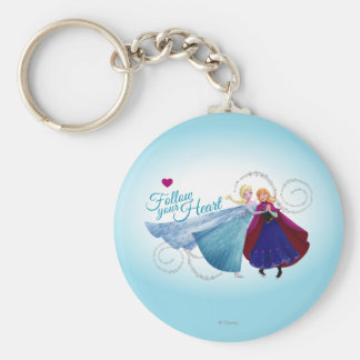 Anna and Elsa | Family Love Keychain