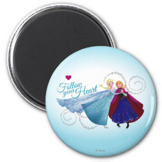 Anna and Elsa | Family Love Magnet