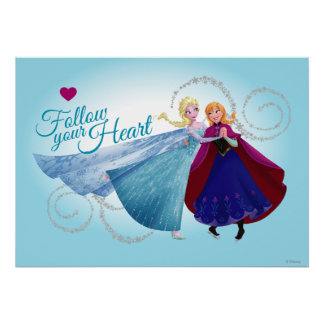 Anna and Elsa | Family Love Poster