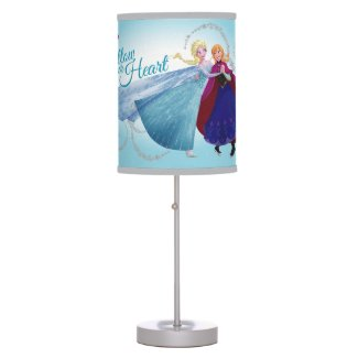 Anna and Elsa | Family Love Table Lamp