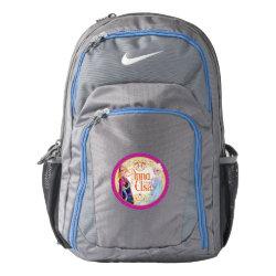 Nike Performance Backpack with Anna & Elsa Floral Design design