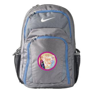 Anna and Elsa | Floral Frame Backpack